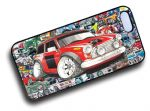 Koolart STICKERBOMB STYLE Design For Retro Classic Mini Cooper S Works Hard Case Cover Fits Apple iPhone 5 & 5s